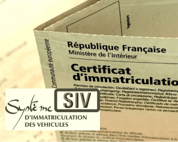 Formalités immatriculation